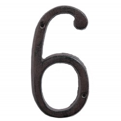 Number (6) | 15 cm | Brown...