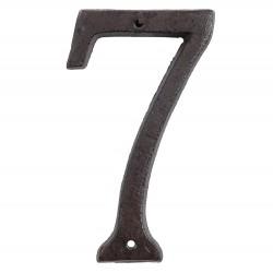 Numéro (7) | 15 cm | Marron...