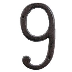 Number (9) | 15 cm | Brown...