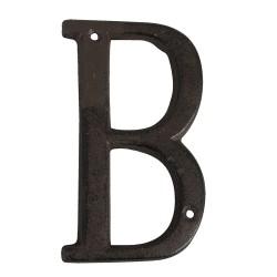 Letter B | 13 cm | Brown |...