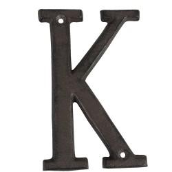 Lettre K | 13 cm | Marron |...