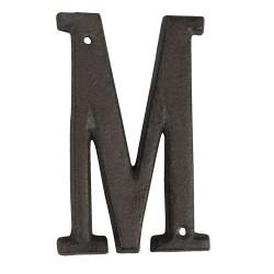 Letter M | 13 cm | Brown |...