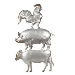 Clayre & Eef Wanddeko Tiere...