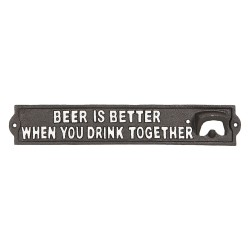 Bottle-opener / Quote board...