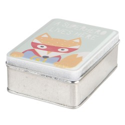 Boîte en métal   10*8*4 cm...