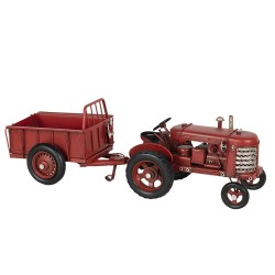 Model tractor with trailer...