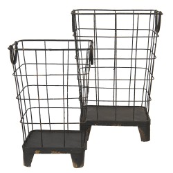 Iron basket (set 2) |...