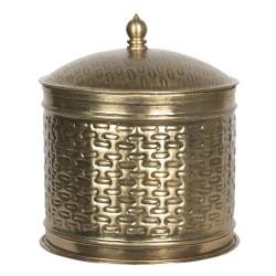 Boîte en métal | Ø 18*20 cm...