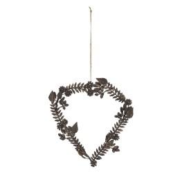 Heart | 23*22 cm | Brown |...