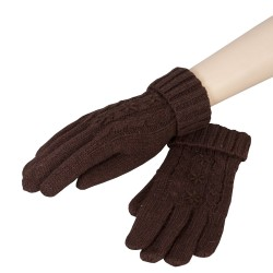 Gloves | 8*21 cm | Brown |...
