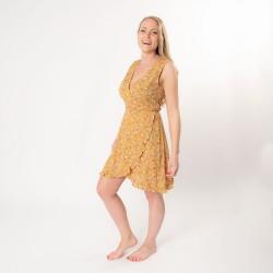Dress L yellow   L   Yellow...