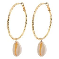 Earrings | Brown | Zinc |...