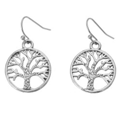 Earrings | Silver colored |...