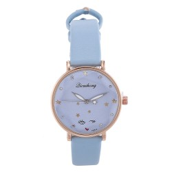 Watch | Blue | Round |...