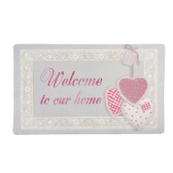 Doormat | 74*44*1 cm | Pink...