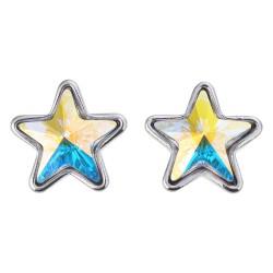 Earrings crystal | Silver |...