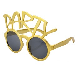 Sunglasses Party | Gold |...