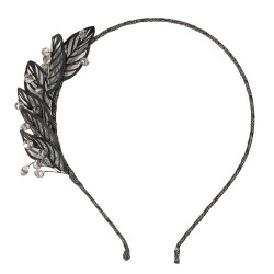 Headband | Black | Metal /...