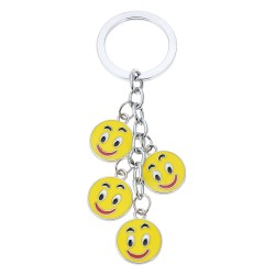 Key chain | Yellow | Metal...