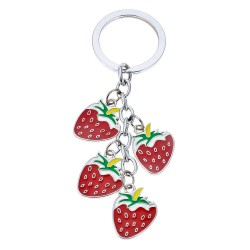 Key chain | Red | Metal |...