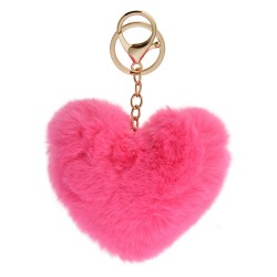 Key chain | Pink | Plastic...