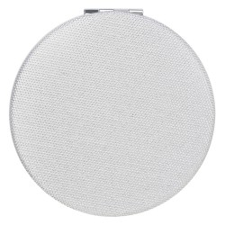 Hand mirror | Ø 6 cm | Grey...