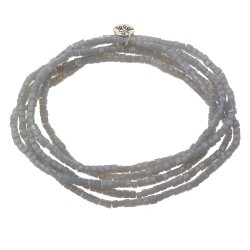 Necklace | 2mm*1m | Grey |...
