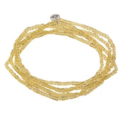 Necklace | 2mm*1m | Yellow...