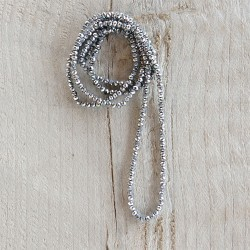 Necklace | 4 mm*1 m | Grey...
