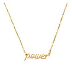 Necklace | 45 cm | Gold |...