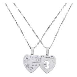 Necklace | 45 cm | Silver |...
