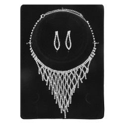 Necklace and earrings |...