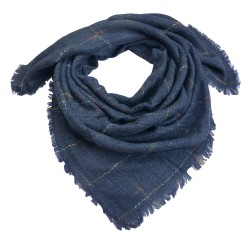 Scarf | 130*130 cm | Blue |...