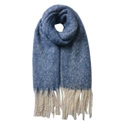 Scarf | 50*180 cm | Blue |...