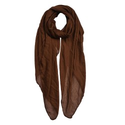 Scarf | 80*180 cm | Brown |...