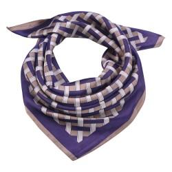 Scarf | 70*70 cm | Violet |...