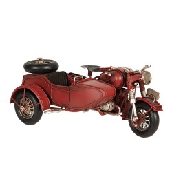 Model motorcycle with...