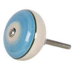 Deurknop | Ø 4*3 cm | Blauw...