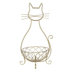 Iron basket cat | 31*25*55...