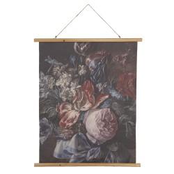 Wandkaart met bloemen |...