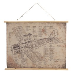 Wall map | 100*2*75 cm |...