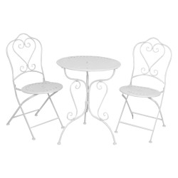 Table + 2 chairs | Ø 62*73...
