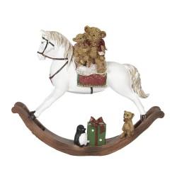 Décoration ours sur cheval...