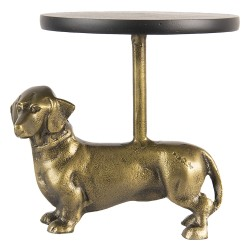 Clayre & Eef Cake Stand Dog...
