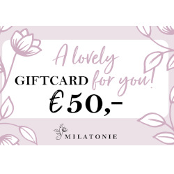 Gift card 50 Milatonie