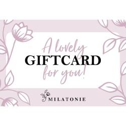 Gift card 75 Milatonie
