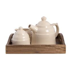 Clayre & Eef Teapot 6H1986...
