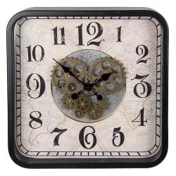 Horloge murale   48*48*9 cm...