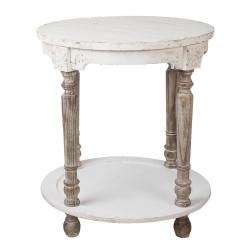 Tisch | Ø 60*68 cm | Weiß,...