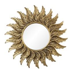 Miroir | Ø 47*3 cm | Or |...